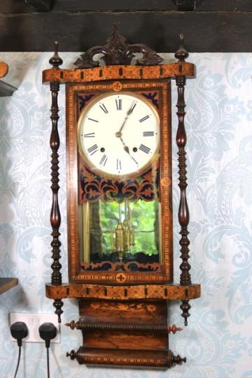 American Tullware Wall Clock